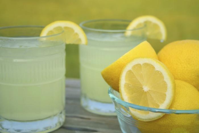 Как сделать лимонад простой