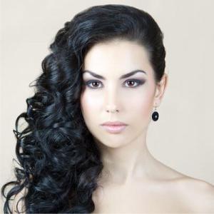 Прическа на бок на длинные волосы fb ru