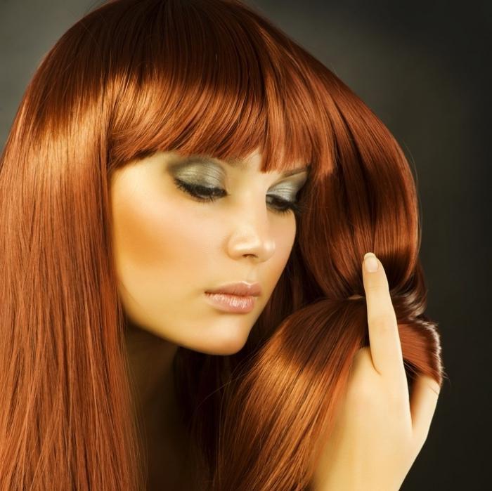 картинки краски для волос рыжего цвета строительство