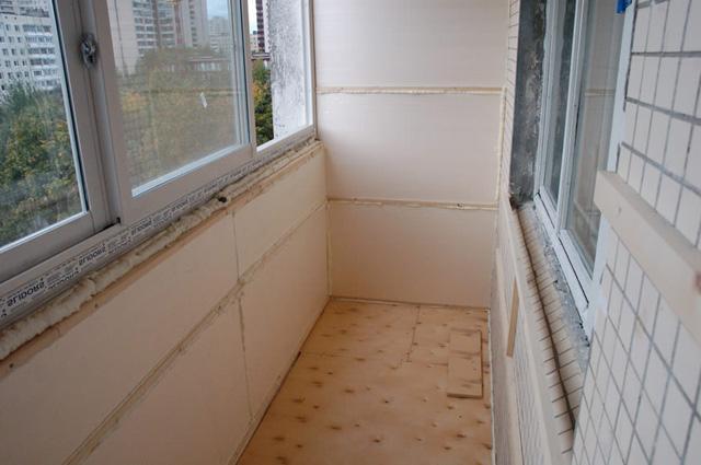 застеклить и утеплить балкон