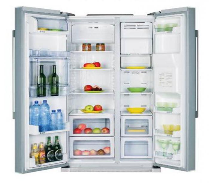 zweitüriger Kühlschrank