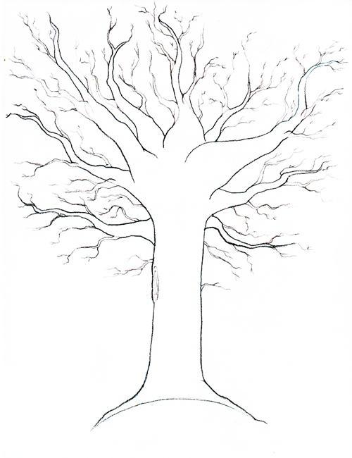 Как рисовать осень карандашом картинки поэтапно