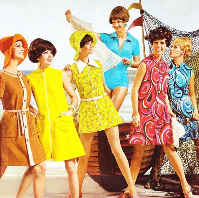 Женская Одежда В Стиле 60 Х