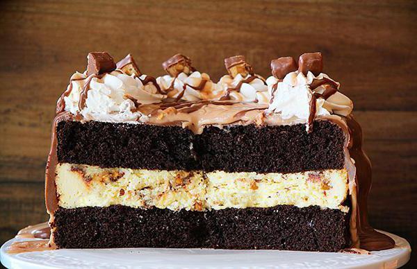 торт сникерс с безе рецепт с фото классический