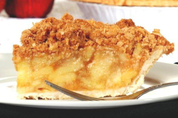 сдобный пирог с яблоками в духовке