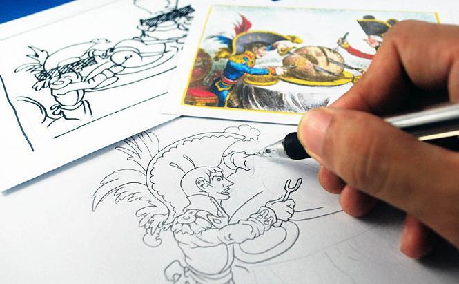 Картинки мульты как делать