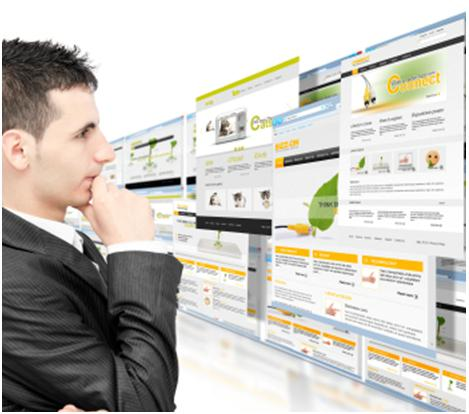 основные виды сайтов
