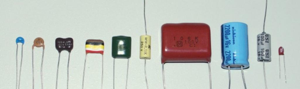 Емкостное сопротивление конденсатор
