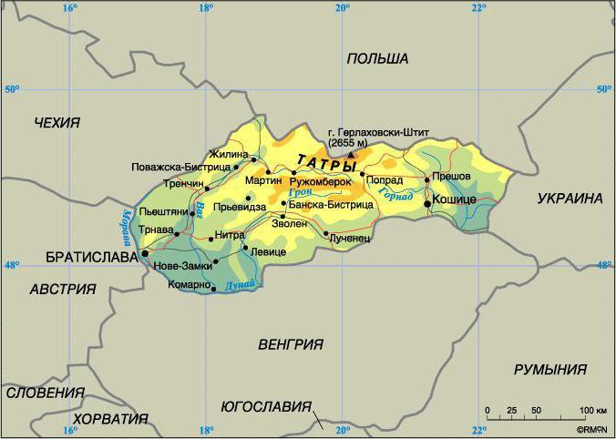 Самые известные города Словакии и другие ее ...