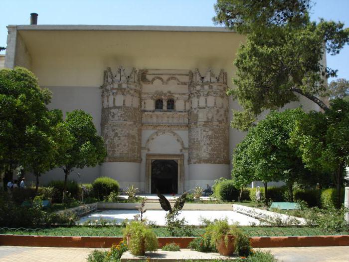 сирия достопримечательности национальный музей дамаска