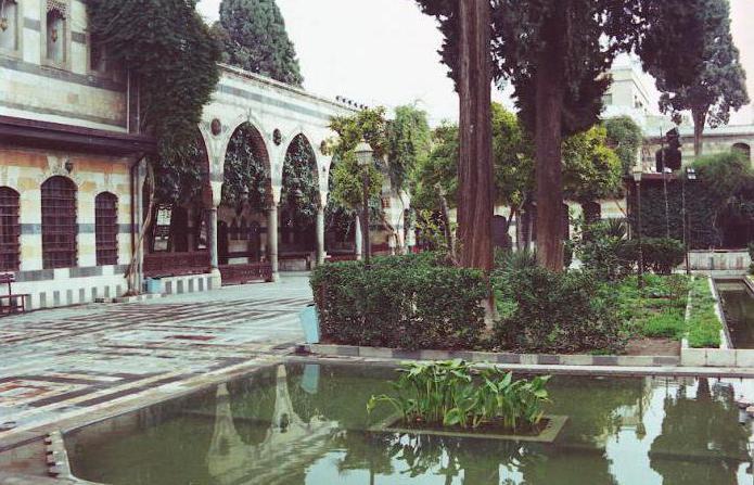 сирия достопримечательности дворец азем