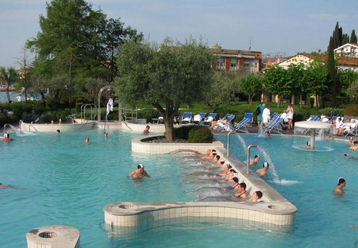 италия термальные курорты
