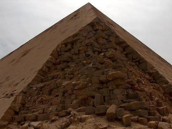 ломаная пирамида описание размеры коридор камера