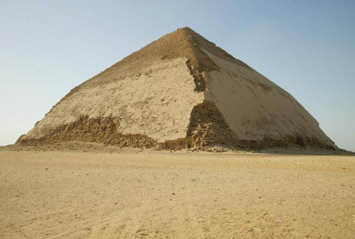 ломаная пирамида фото