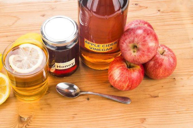 яблочный уксус с медом польза и вред