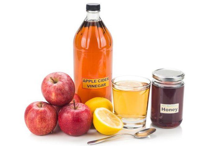 мед чеснок яблочный уксус