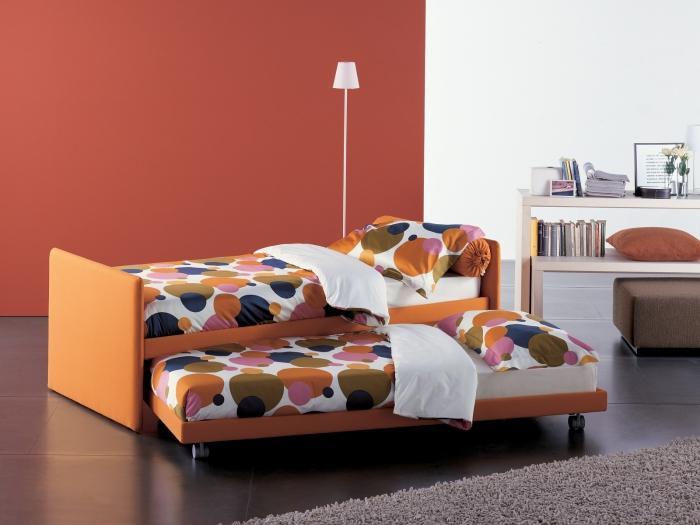 выдвижная кровать детская