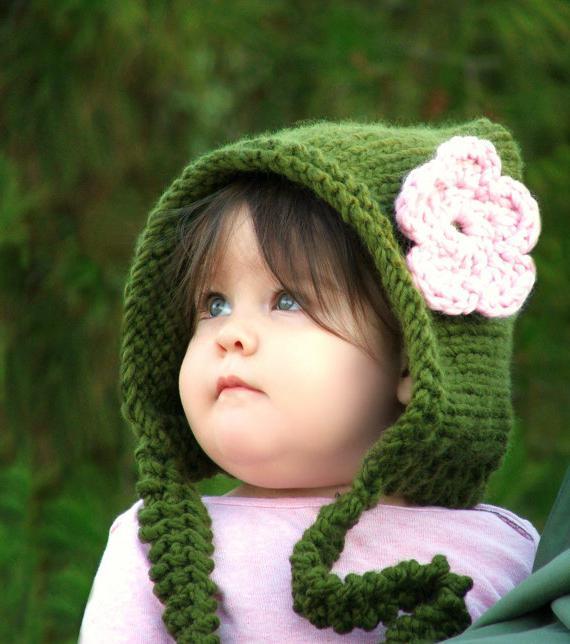 как связать детскую шапку спицами