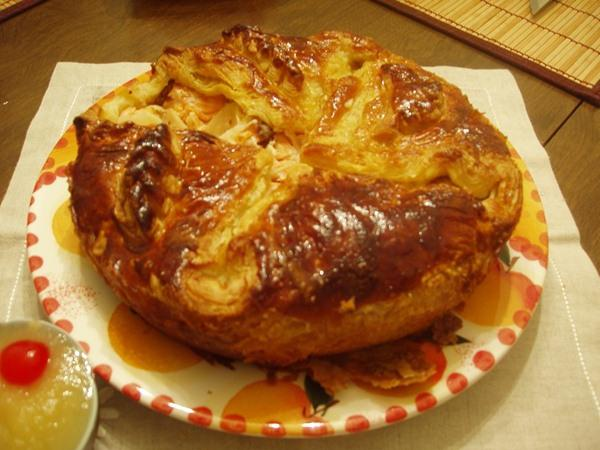 жидкое тесто для пирога с рыбой и картошкой