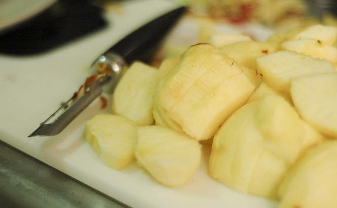 рецепт приготовления яблочного пюре неженка