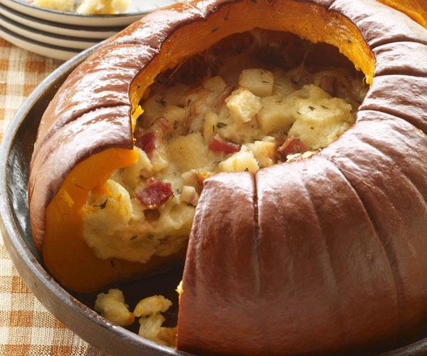 рецепты тыква с мясом и картофелем в духовке