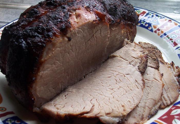 окорок свиной в духовке рецепт