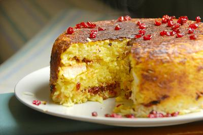 пирог с барбарисом