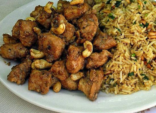 наггетсы с рисом
