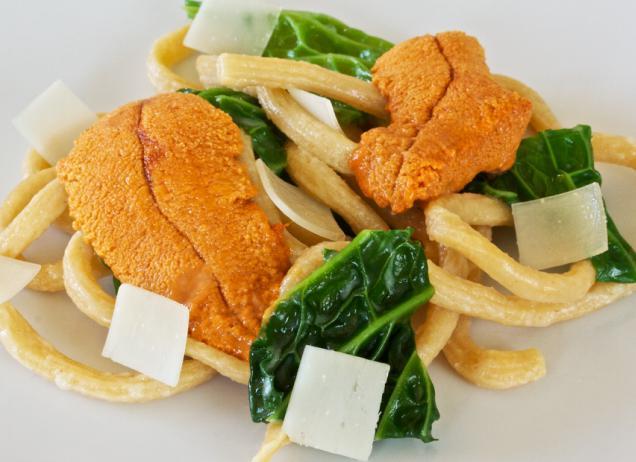 икра морского ежа рецепты