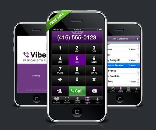как пользоваться программой viber