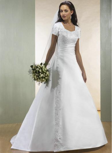 Закрытое платье свадебное: утонченный вкус или пуританские традиции?