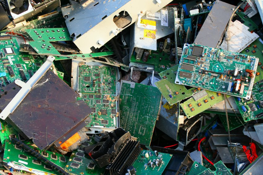chips from electronic devices