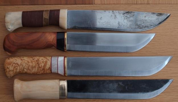 как сделать рукоять для ножа