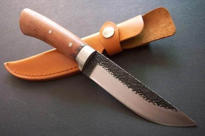 Охотничьего ножа своими руками