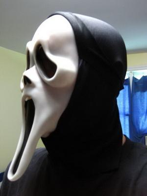 крик маска