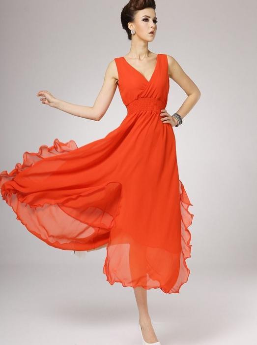 Как шить платье из шифона