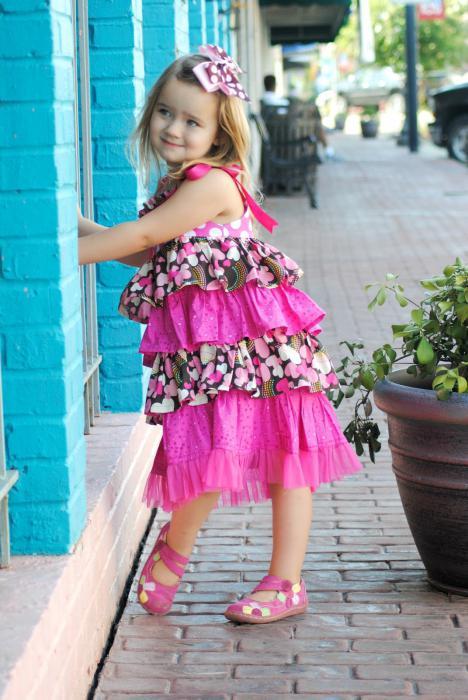 детские сарафаны для девочек выкройки