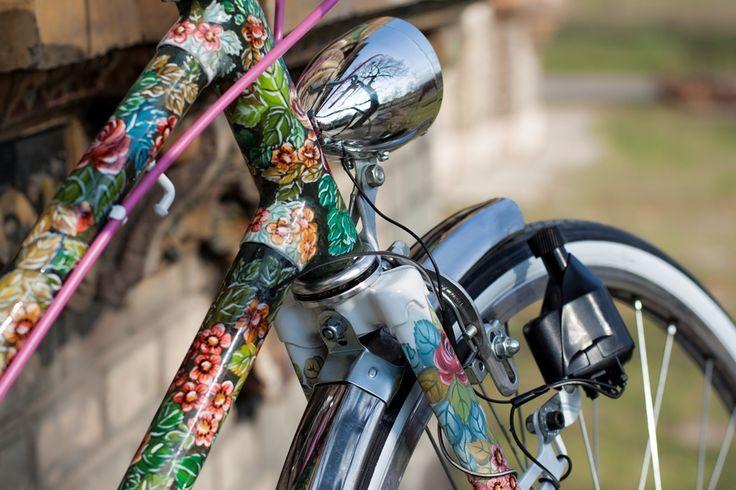 аэрография на велосипеде как выполняется