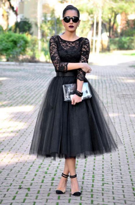 Платья ретро миди с пышной  фото