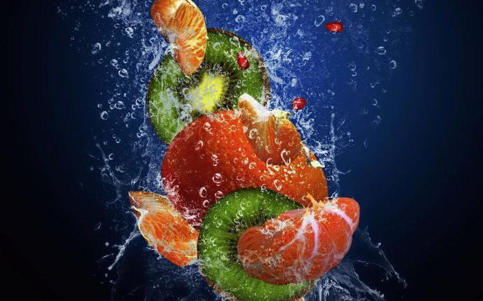 Как сфотографировать фрукты в воде