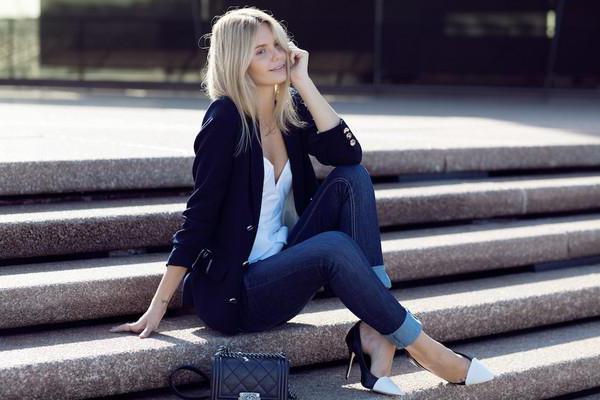 джинсы слим