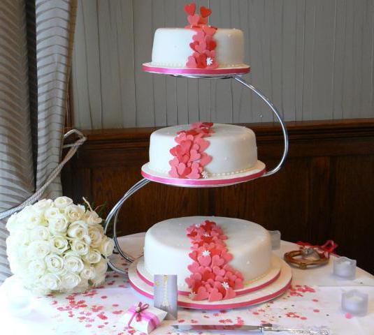 как сделать трехъярусный торт