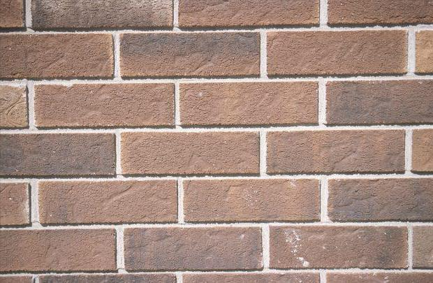 The color of the brick and its role in the art of design