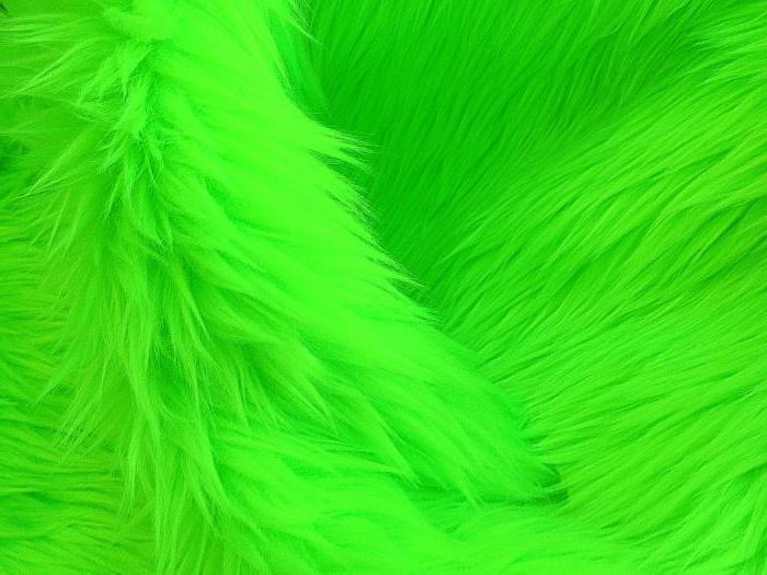 Неоновый зелёный цвет