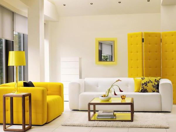Интерьеры в желтом 56