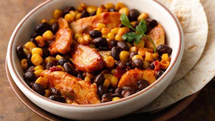 овощная смесь мексиканская