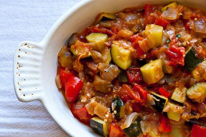 приготовление овощной смеси