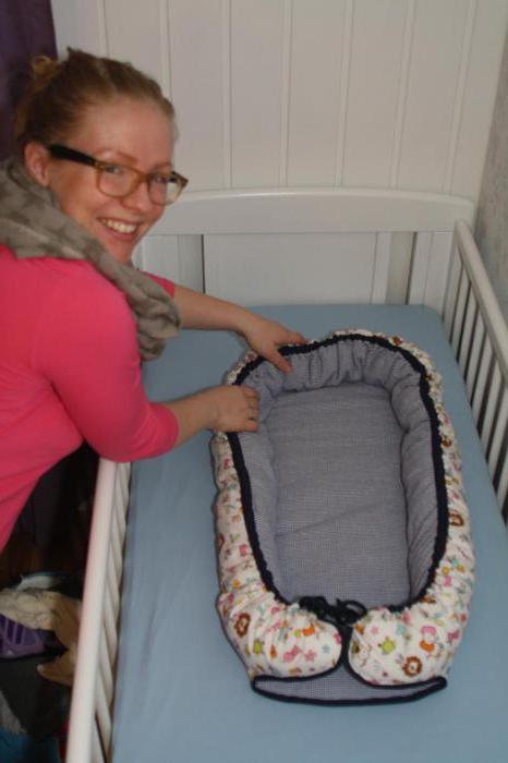 как сшить кокон для новорожденного своими руками