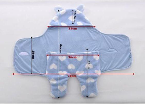 пеленка кокон для новорожденных сшить своими руками