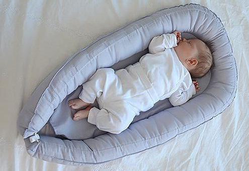 кокон для новорожденных своими руками сшить
